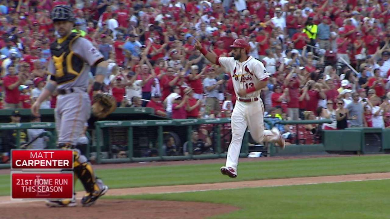 Carpenter's two-run homer