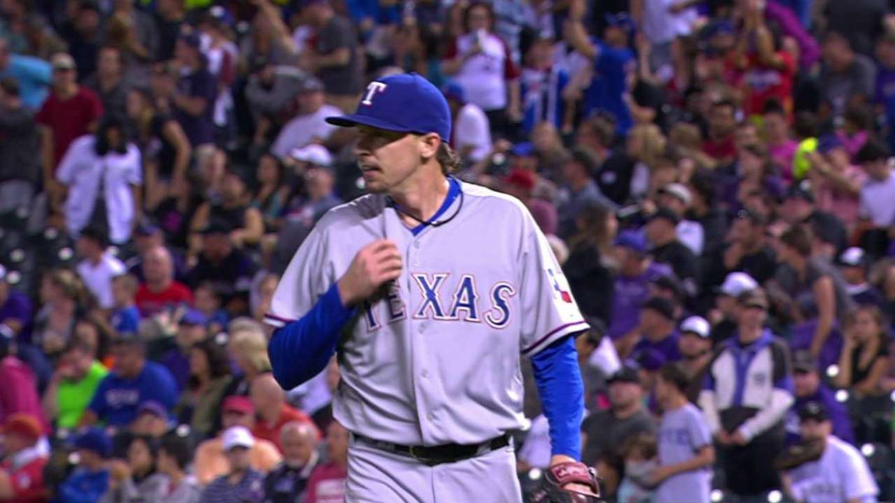 Rangers' callups to come in 2 waves; 'pen first