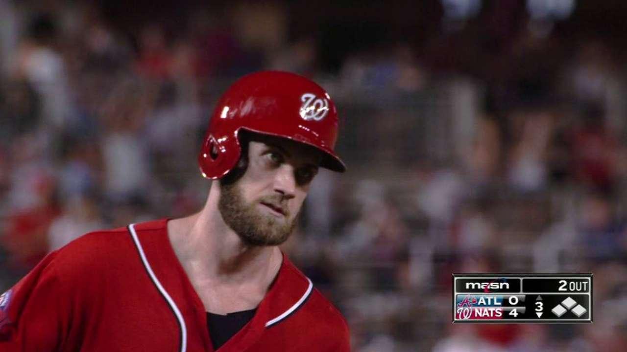 Harper's 33rd homer