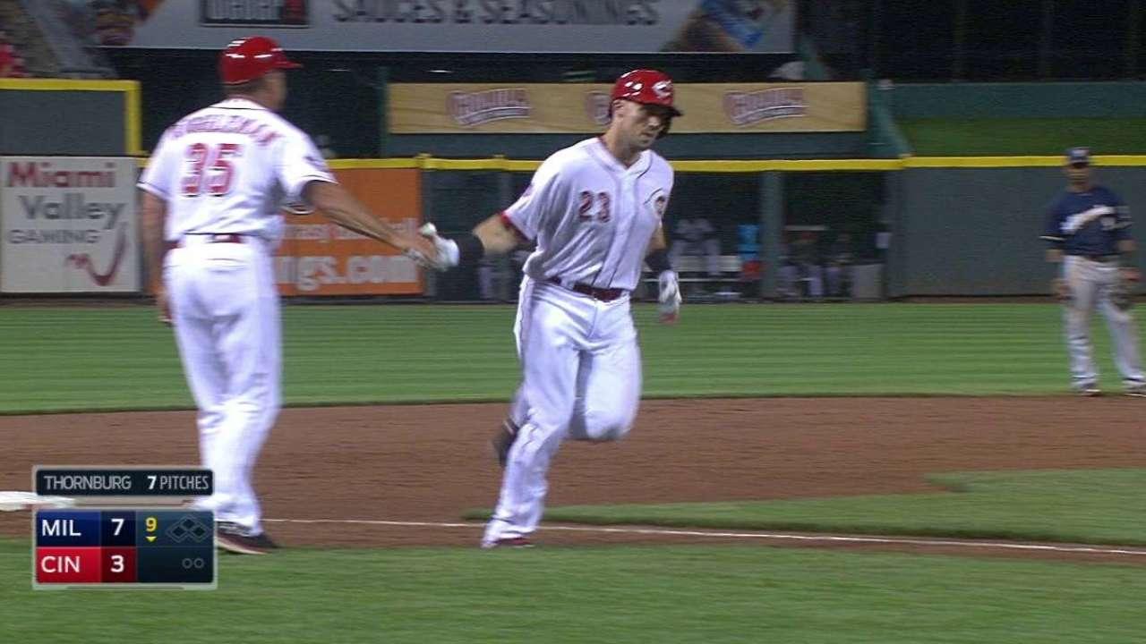 Duvall's solo home run