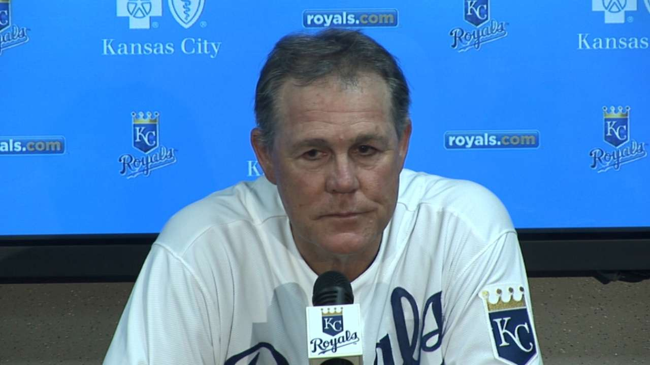 Yost on Duffy, missed chances