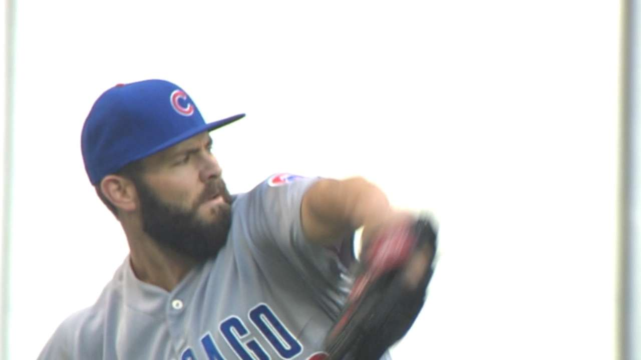 Maddon seeking balance with pitchers' load