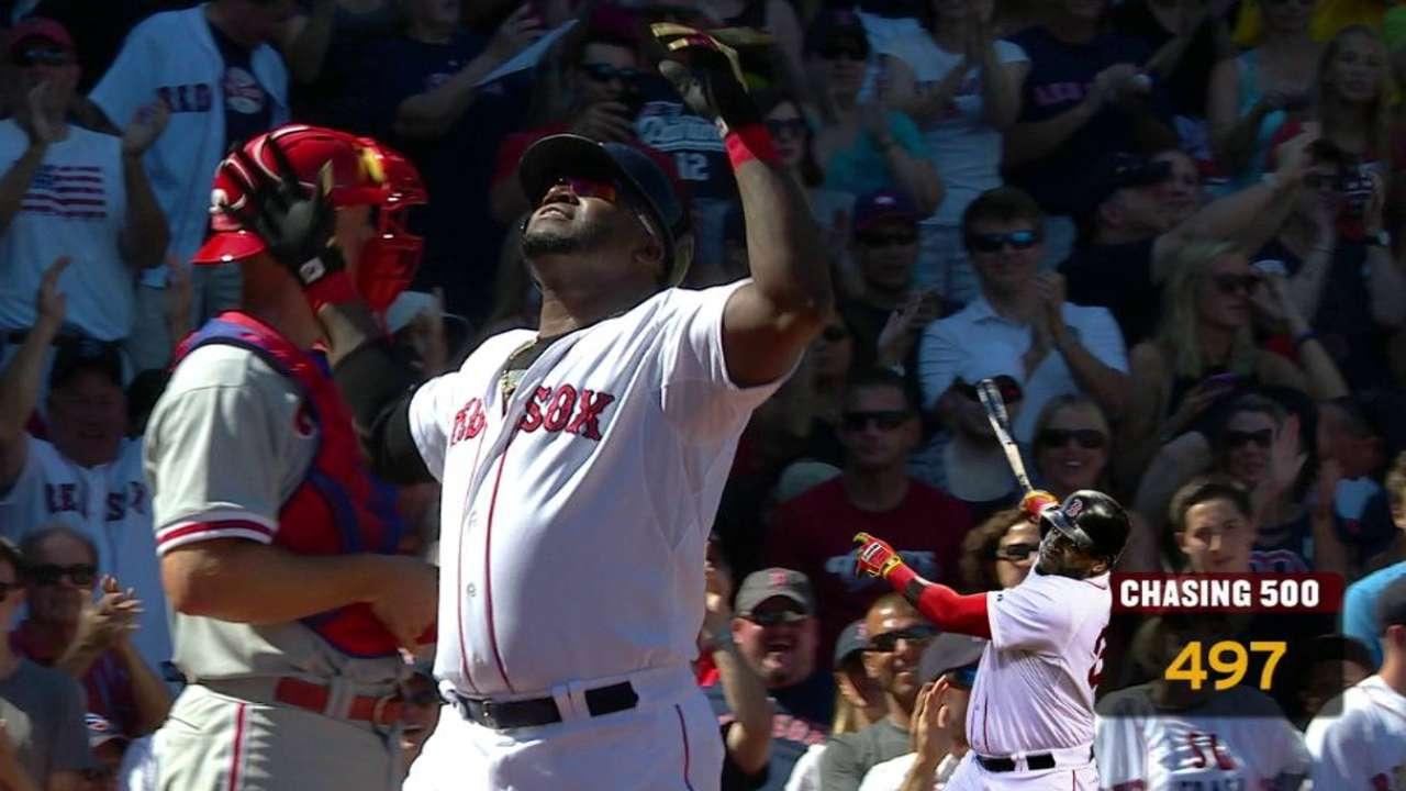 Ortiz's 497th career homer