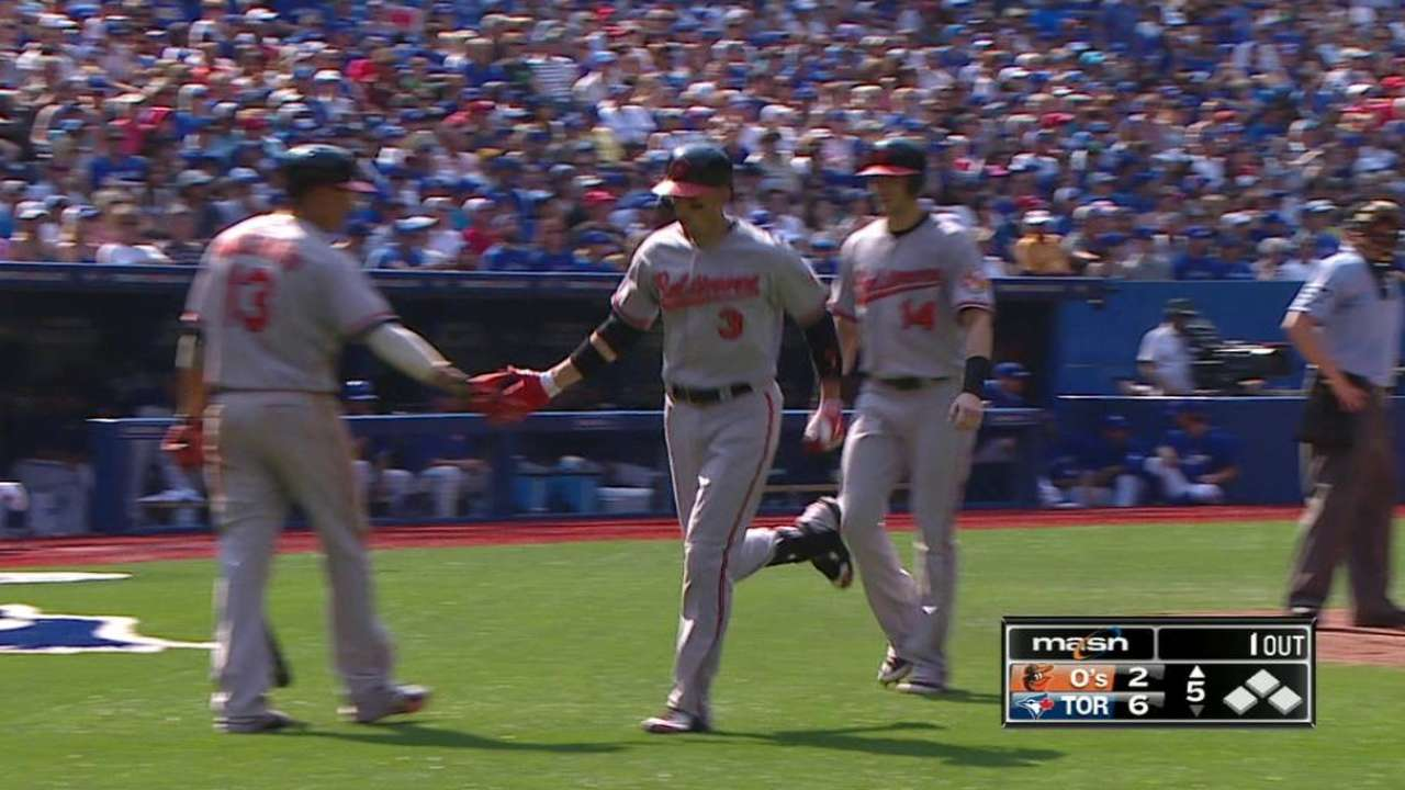Flaherty's two-run homer