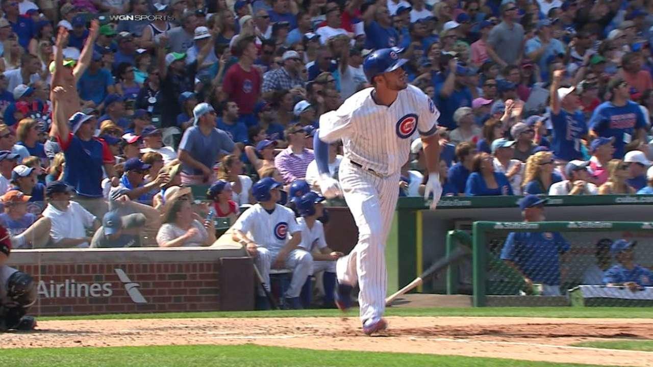 Bryant's long solo home run