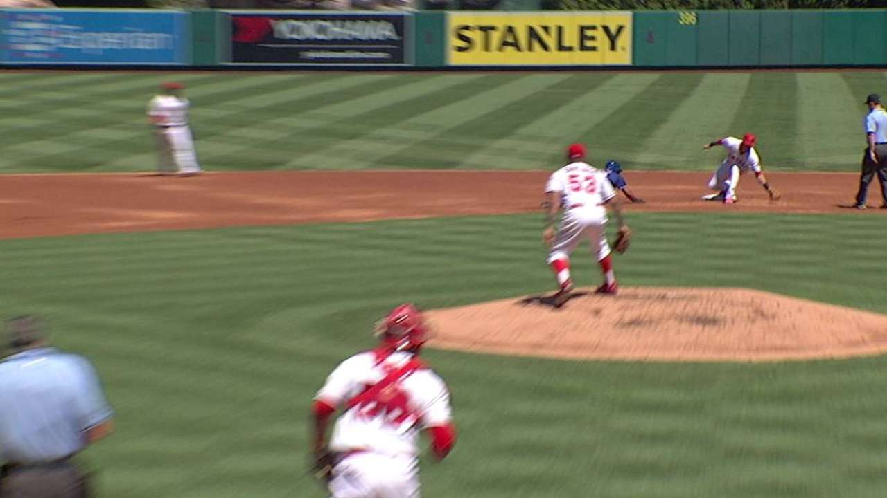 Santiago snags liner, turns two