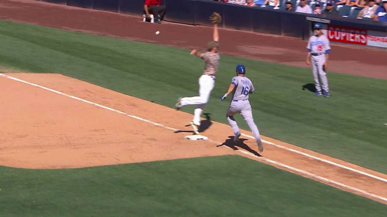 Dodgers aprovechan errores y se imponen a Padres