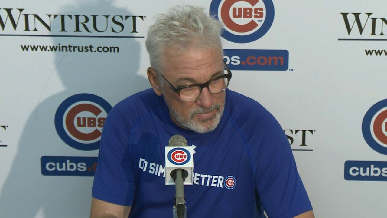 October or bust: Maddon a big-picture skipper