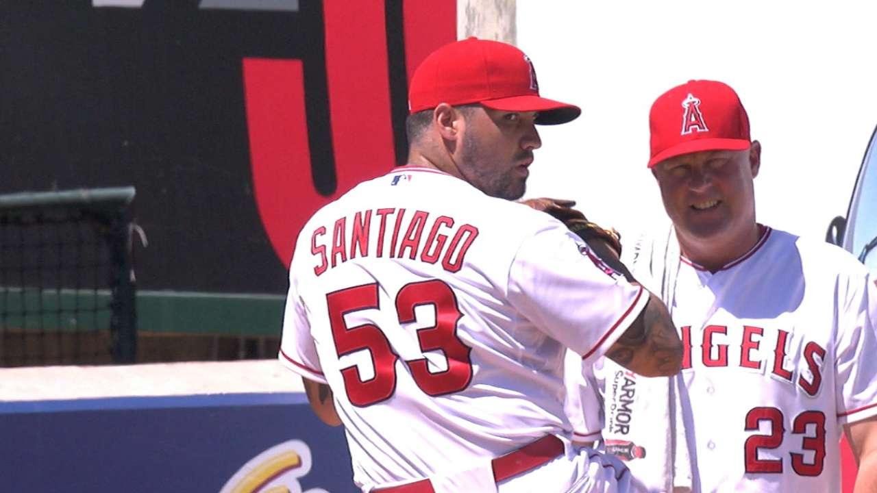 Santiago's winning start