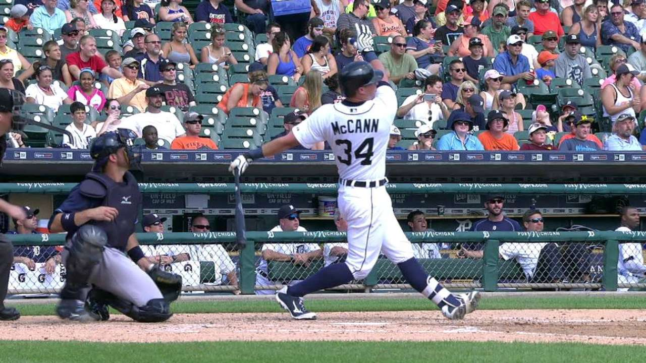 McCann's two-run blast
