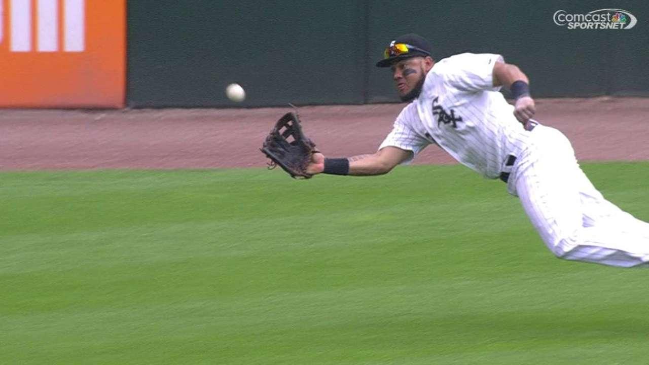 Cabrera's diving catch