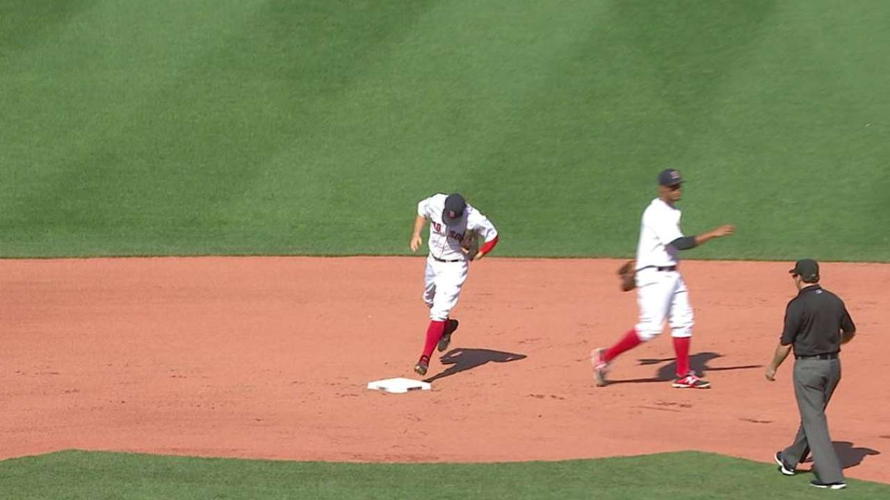 Holt's line-drive double play