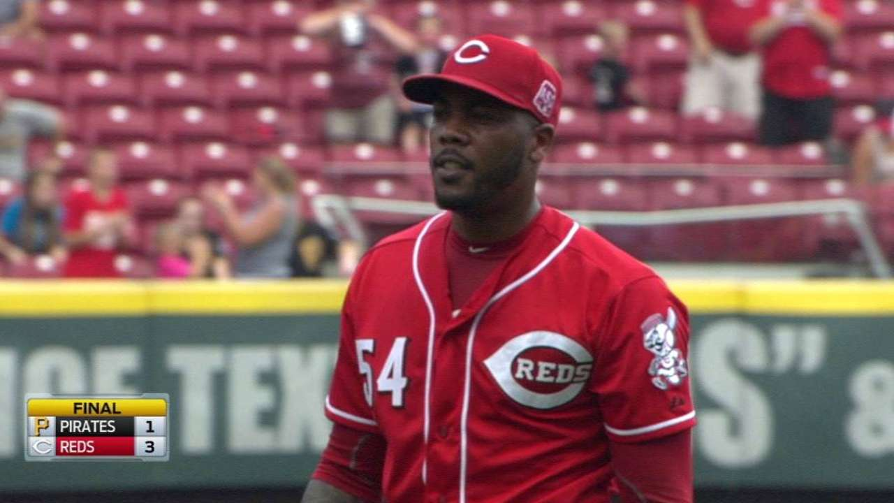 Chapman's NL Central exit could benefit Bucs