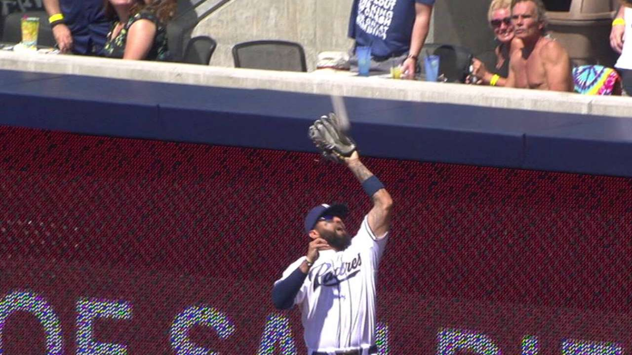 Kemp has an up-and-down day for Padres