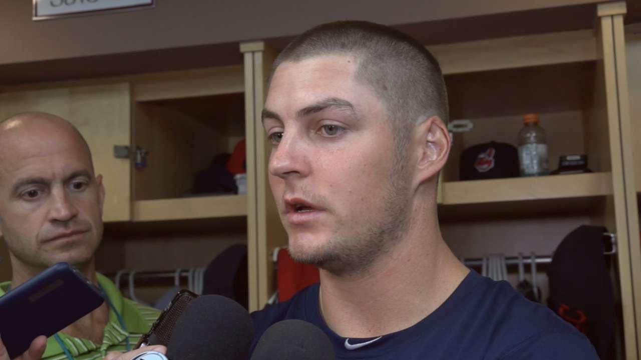 Indians on win over White Sox