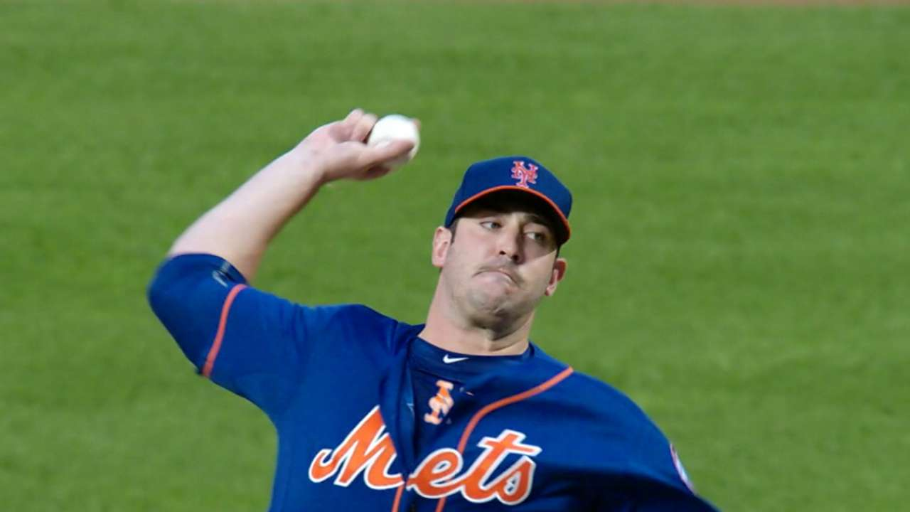 Adore Matt? Mets counting on Harvey