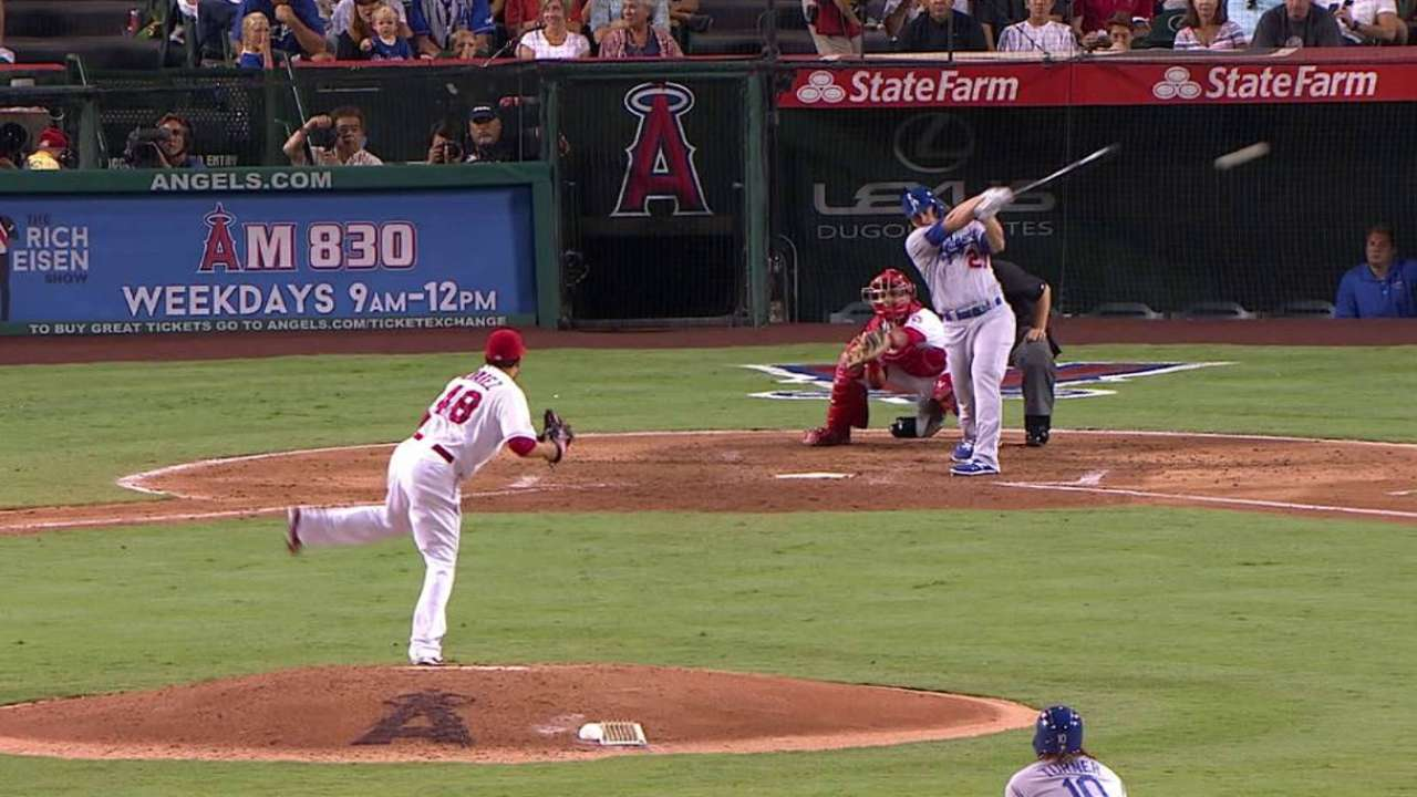 Ruggiano's two-run double