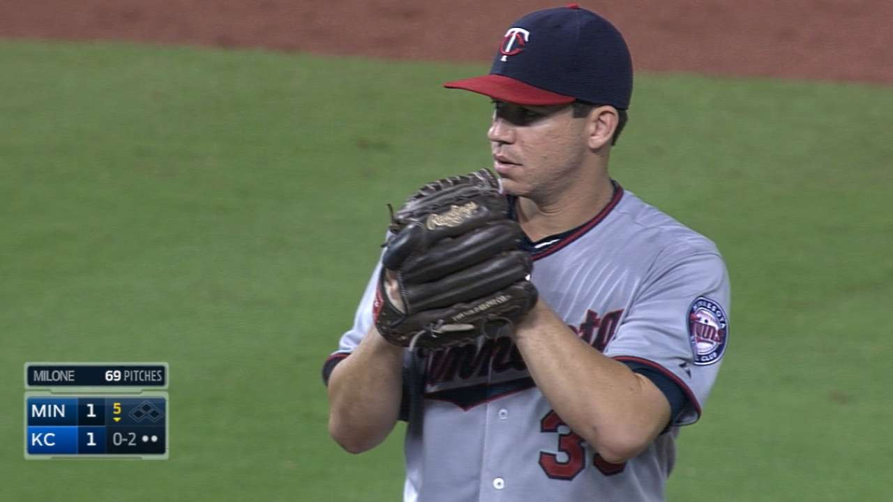 Twins set rotation for first 3 of weekend set