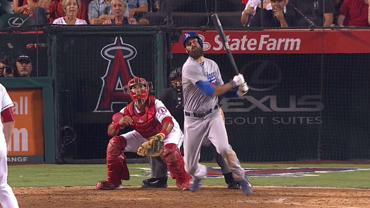 Van Slyke's four-hit game