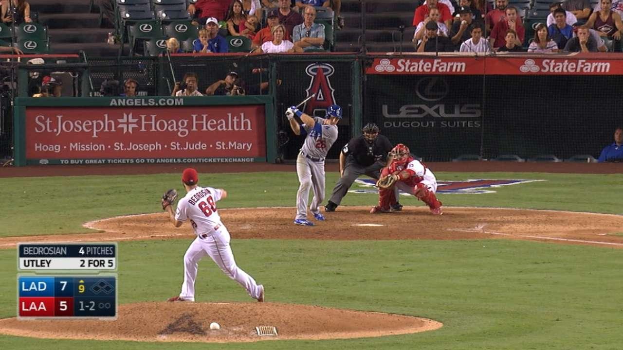 Angels use franchise-record nine pitchers