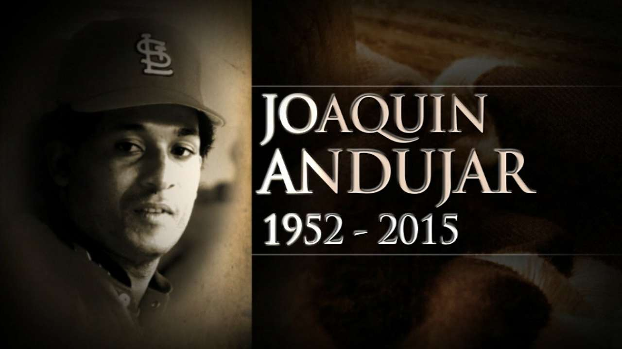 Former All-Star pitcher Andujar dies at 62