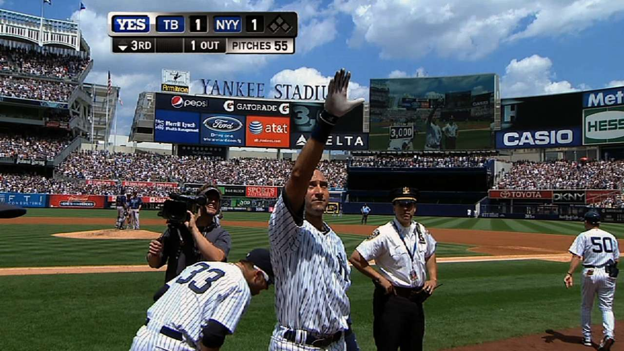 Jeter's 3,000th hit