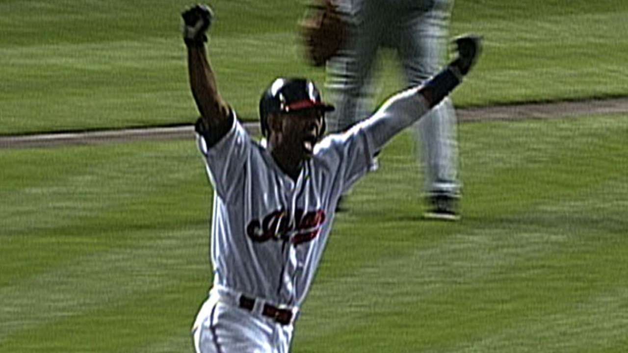 Tribe's top moments honored on Opening Day