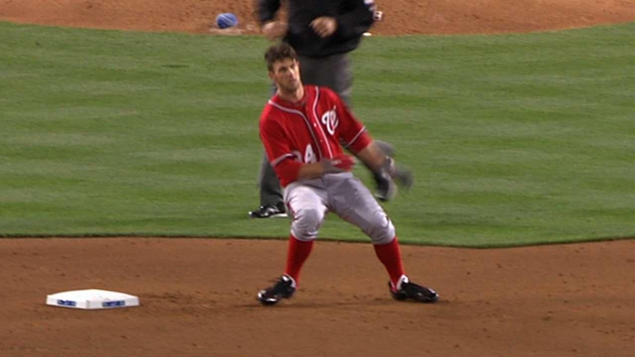 Harper's Major League debut