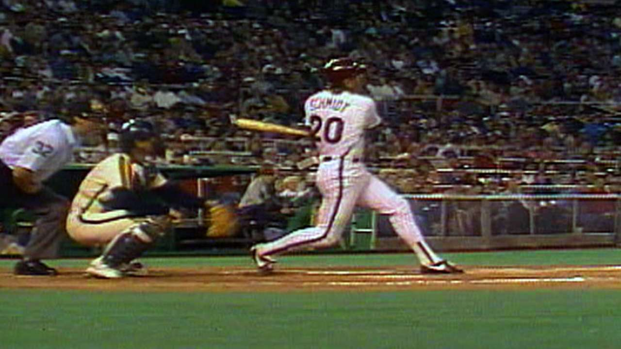 Schmidt's final home run