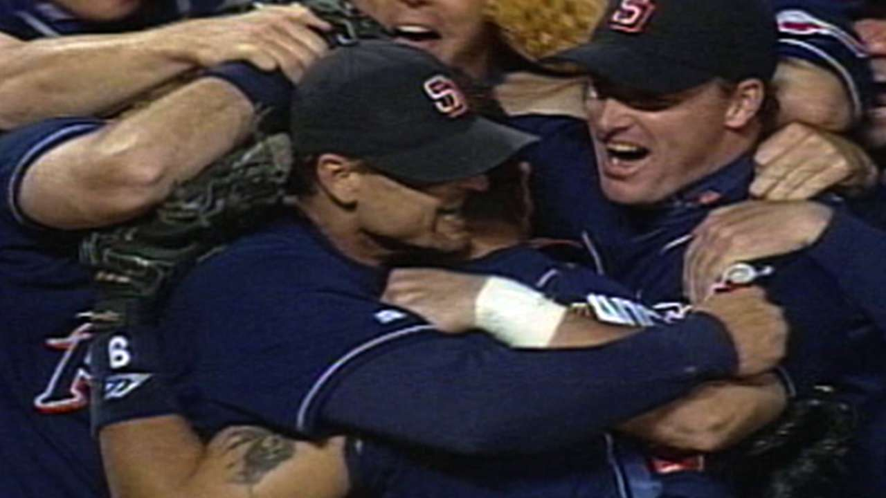 Padres win '98 NL Pennant