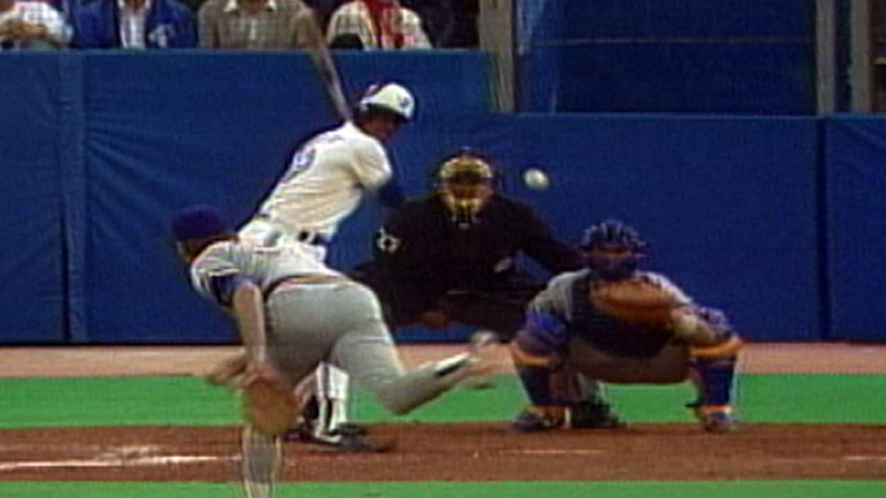 First home run at SkyDome