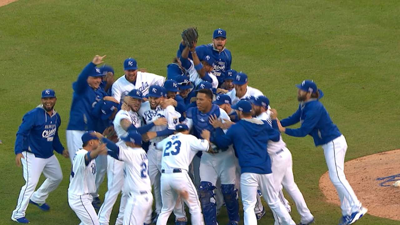 Royals clinch, head to WS