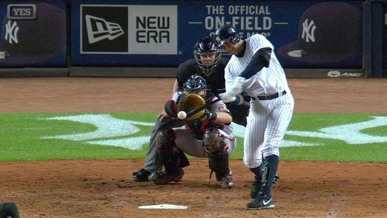 A-Rod ties Aaron with 15th 30-HR season