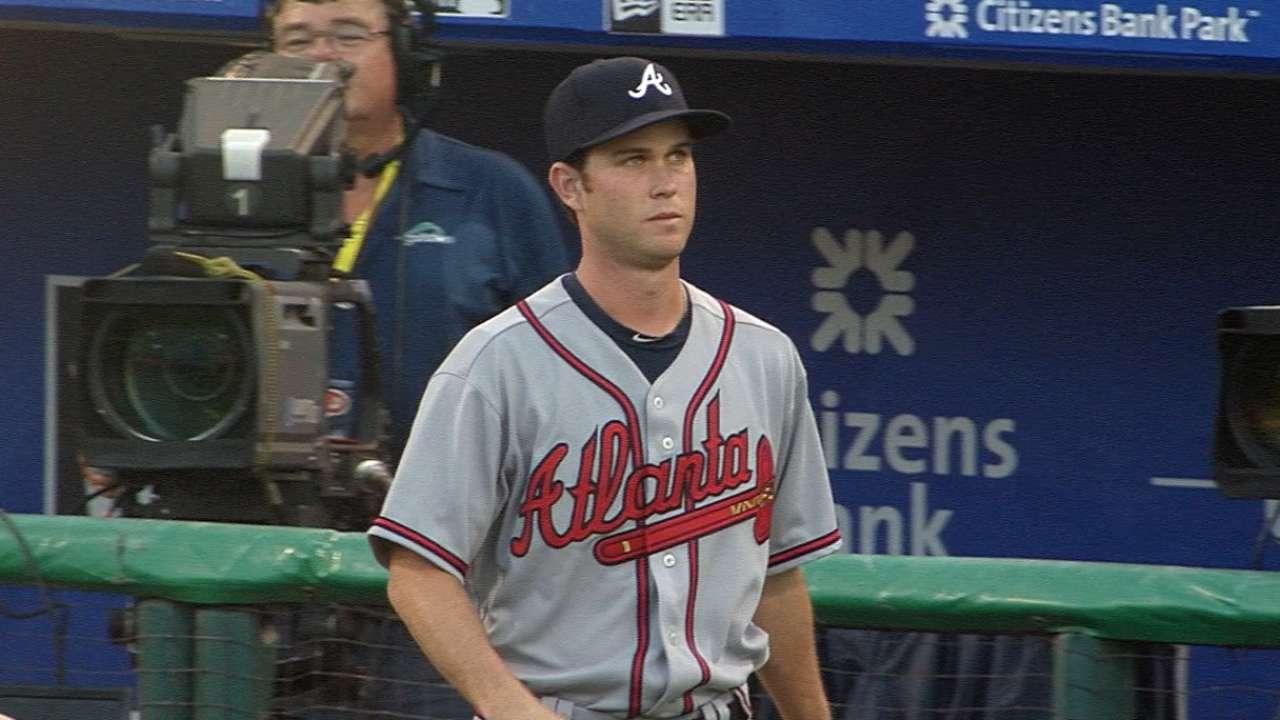 Weber's Major League debut