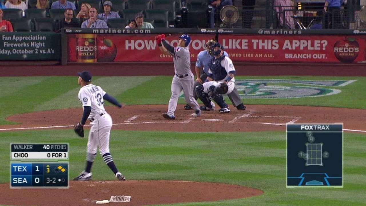 Choo's three-run homer