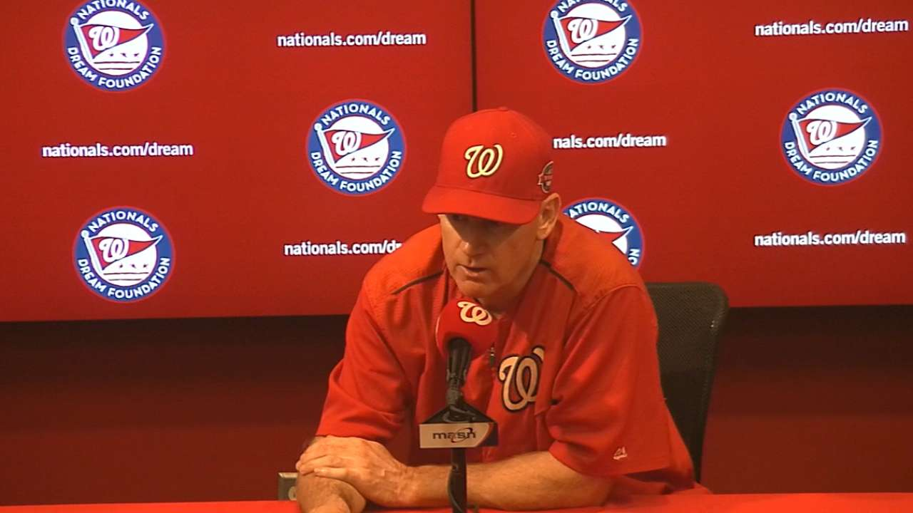 Nationals' moves backfire in wild 7th
