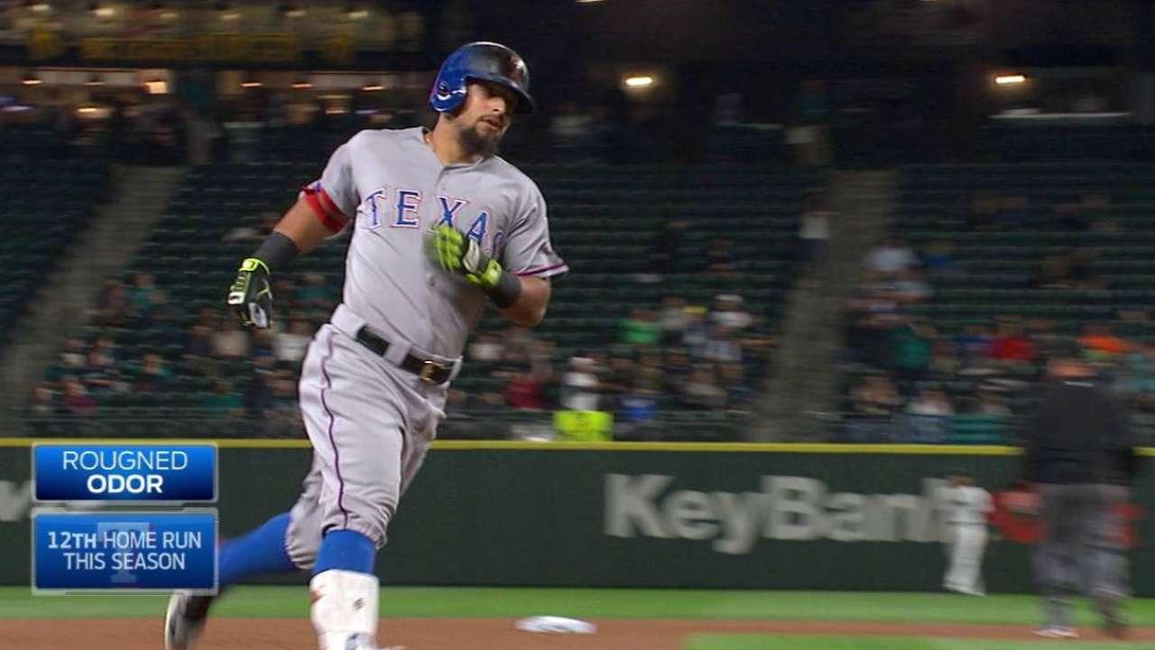 Odor's two-run homer