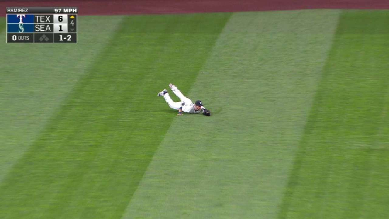 O'Malley's diving catch
