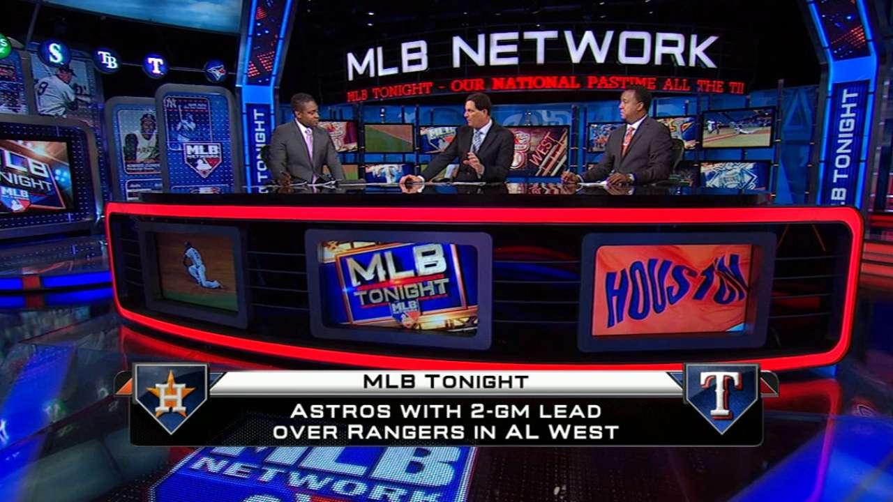 MLB Tonight on AL West