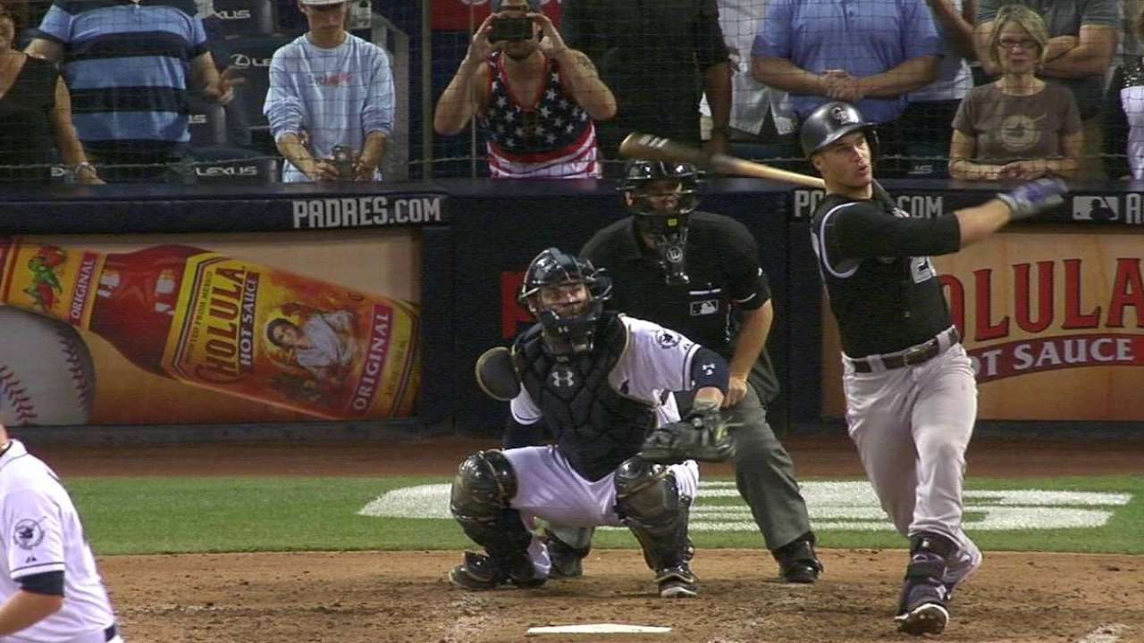 Arenado's game-tying homer