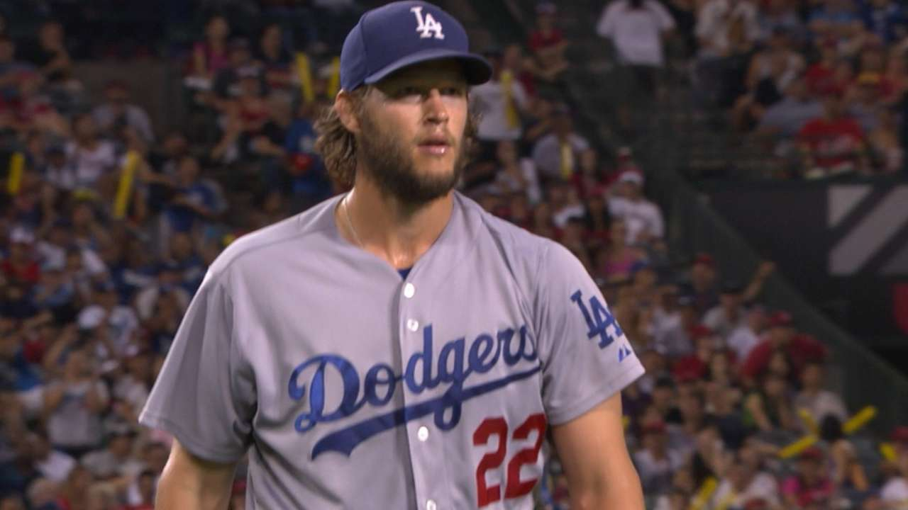 Kershaw runs Dodgers' win streak to 5
