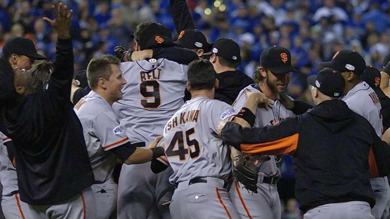 Giants win 2014 World Series