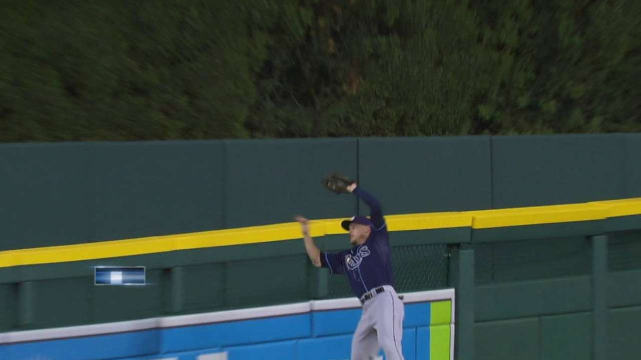 Guyer's leaping catch