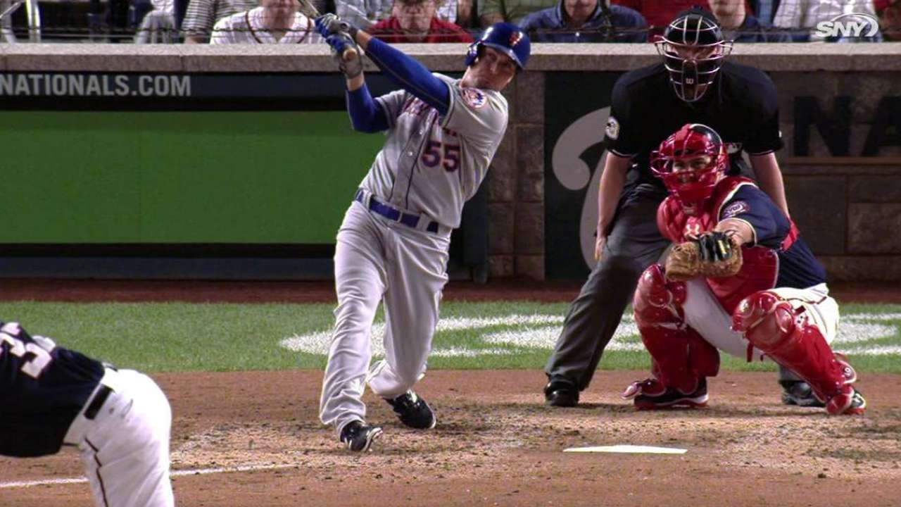 Johnson's pinch-hit homer sets up Mets for success