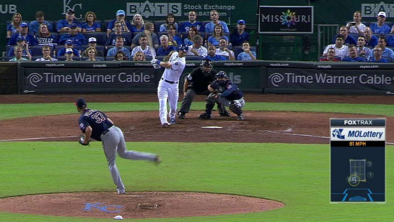 Zobrist still force in Royals' sputtering offense
