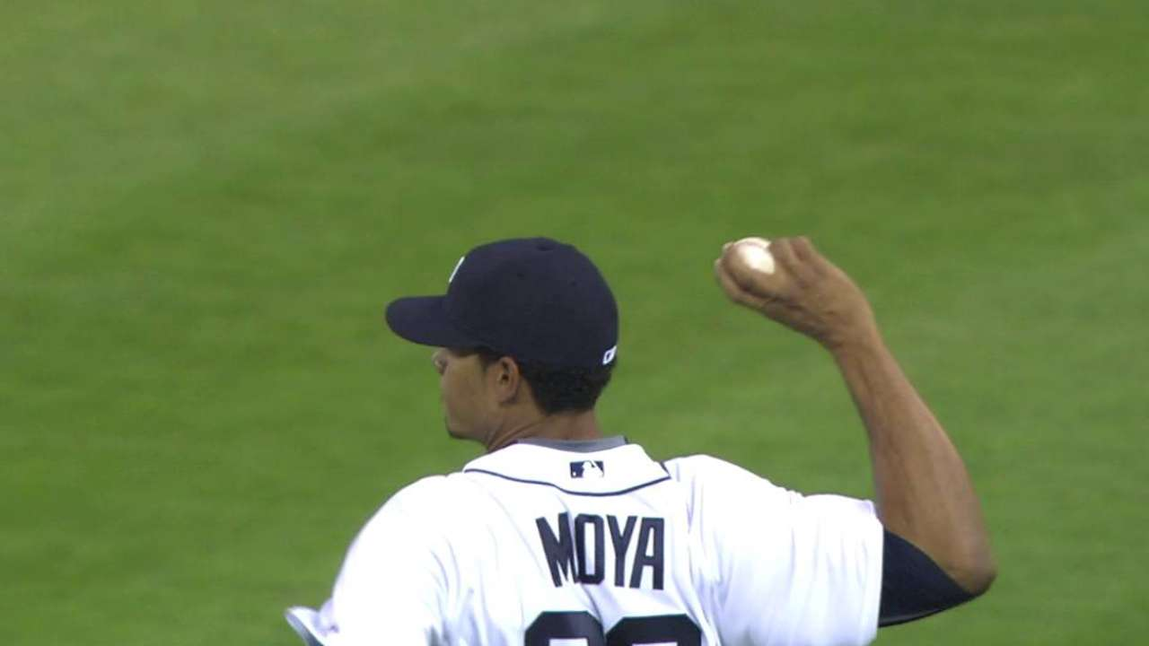 Moya ready for 2nd chance with Tigers