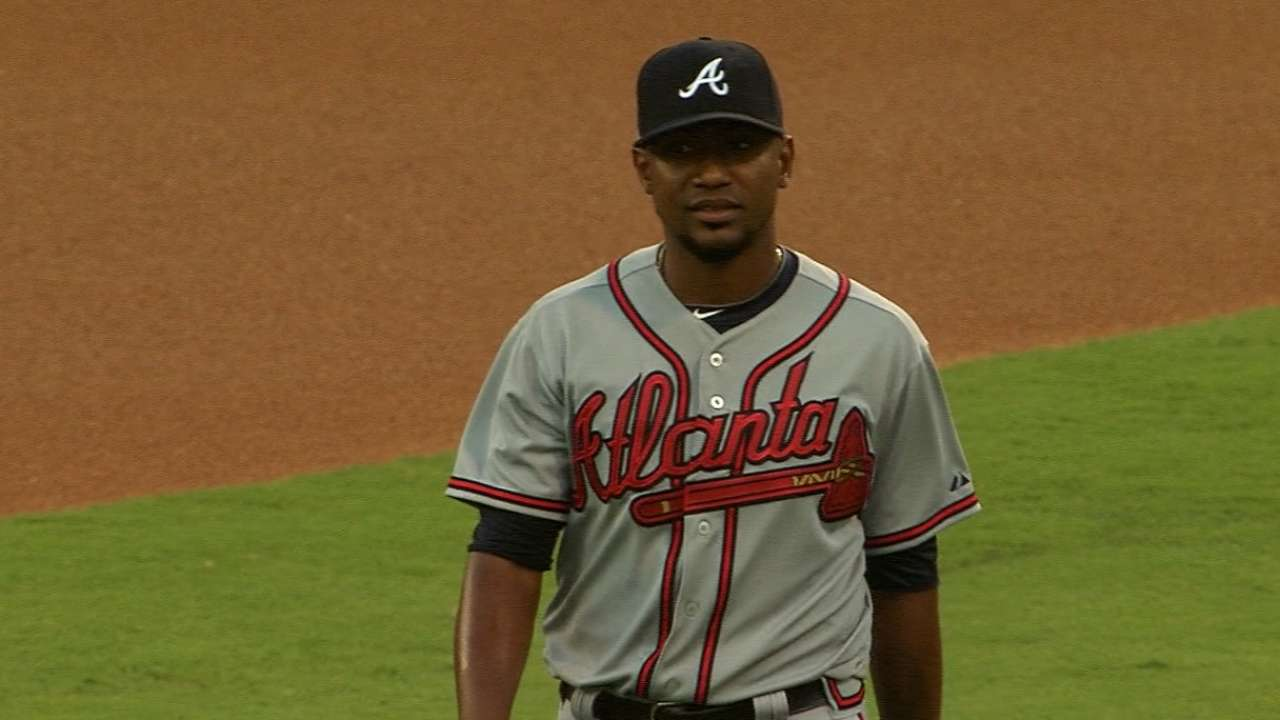 Braves clinch series vs. Phils behind Teheran