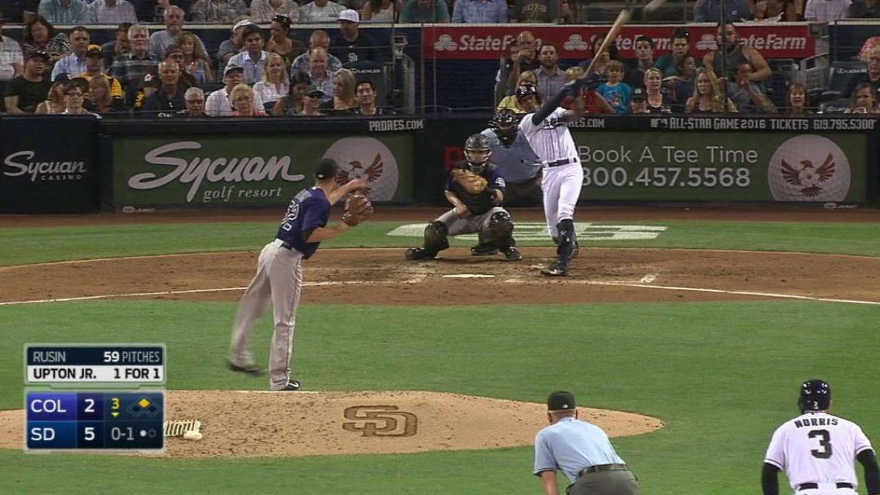 Upton Jr.'s RBI double