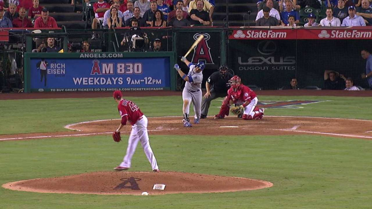 Richards' 10th strikeout