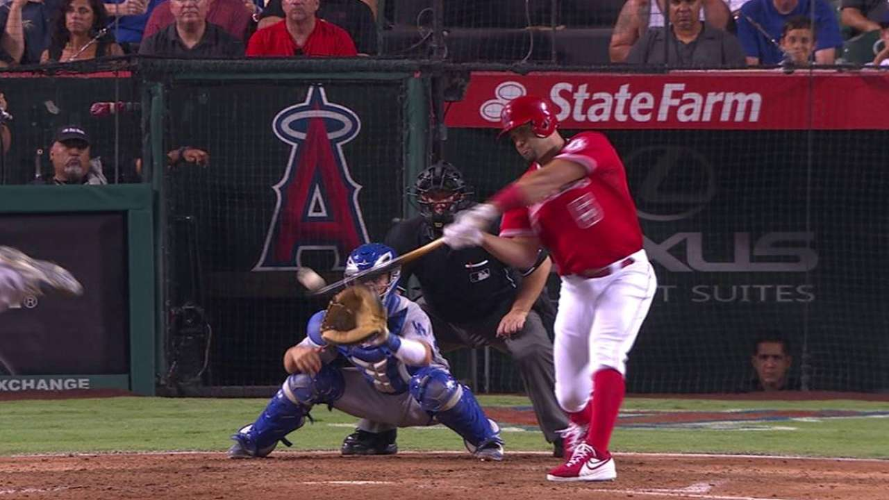 Pujols gives Angels a much-needed win